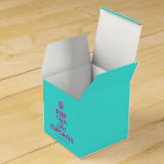 [Cupcake] keep calm and love cupcakes  Favor Boxes Party Favour Box