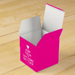 [Love heart] keep calm and eat some skittles!  Favor Boxes Party Favour Box