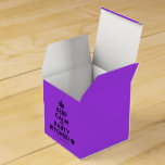 [Crown] keep calm and party bitches! [Love heart]  Favor Boxes Party Favour Box