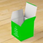 [UK Flag] keep calm because i am a lesbian  Favor Boxes Party Favour Box