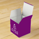 [Two hearts] keep calm and we will be back soon  Favor Boxes Party Favour Box