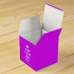 [Cutlery and plate] keep calm and just eat  Favor Boxes Party Favour Box