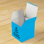 [Crown] keep calm and follow supsophie  Favor Boxes Party Favour Box