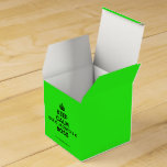 [Crown] keep calm que o jacinto é o boss  Favor Boxes Party Favour Box
