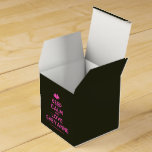 [Two hearts] keep calm and love sheyanne  Favor Boxes Party Favour Box
