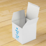 [Crown upside down] hold on to your hat  Favor Boxes Party Favour Box