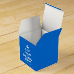 [Crown] keep calm and follow #dhc  Favor Boxes Party Favour Box