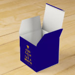 [Chef hat] keep calm and eat a muffin  Favor Boxes Party Favour Box