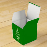 [Crown] keep calm and walk on  Favor Boxes Party Favour Box