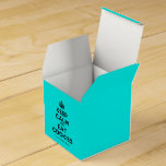 [Crown] keep calm and eat cookies  Favor Boxes Party Favour Box