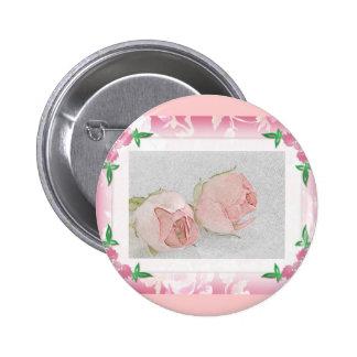 Favor color de rosa del boda del botón… pin
