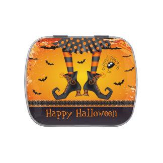 Favor de fiesta caprichoso divertido de Halloween  Jarrones De Caramelos