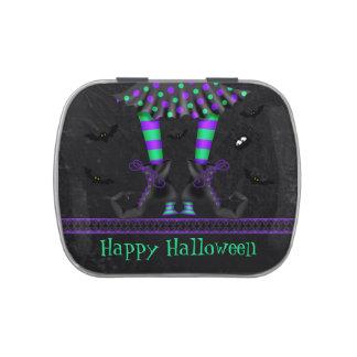 Favor de fiesta caprichoso divertido de Halloween  Latas De Dulces