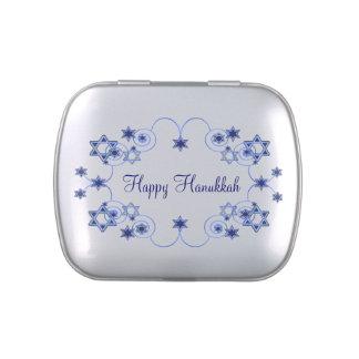Favor de fiesta de encargo elegante de Hannukkah Latas De Dulces