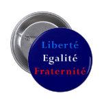 Favor de fiesta francés del tema - botón revolucio pins