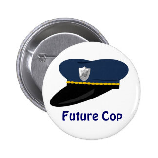 Favor de fiesta futuro del tema del poli del gorra pin
