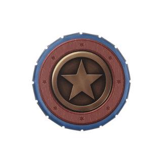 Favor de fiesta occidental de la estrella del tema latas de caramelos