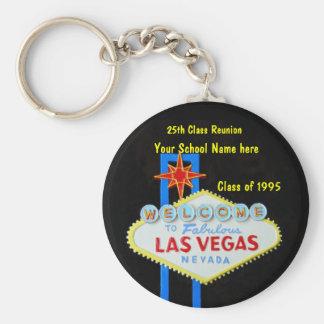 Favor de fiesta personalizado de la muestra de Las Llavero Redondo Tipo Pin