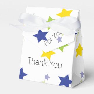 Favor de la estrella para los voluntarios caja para regalos