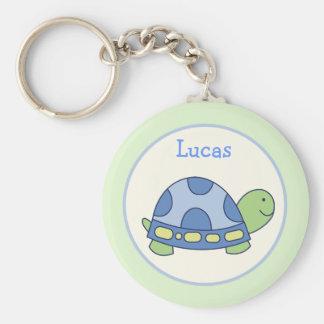 Favor de la tortuga de los amigos de la charca o L Llaveros