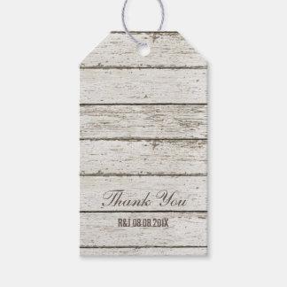 favor de madera del boda del granero del granero etiquetas para regalos