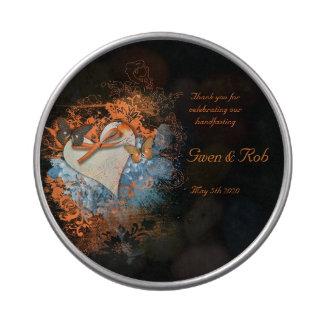 Favor del boda de Wiccan Samhain del Belly de la Latas De Caramelos