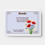 Favor del boda del paquete de la semilla de amapol