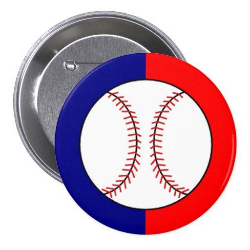 Favor del botón/Pin del logotipo del béisbol del K
