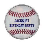 Favor del fiesta personalizado béisbol del muchach