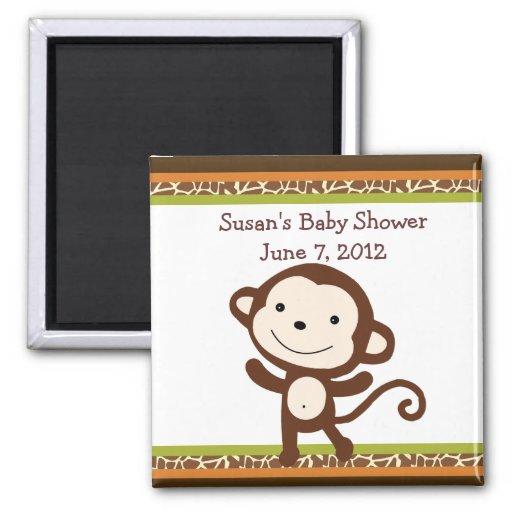 Favor del imán/del recuerdo del mono de la fauna