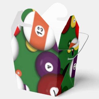 Favor/Gift Box - Billiards Party Favor Boxes