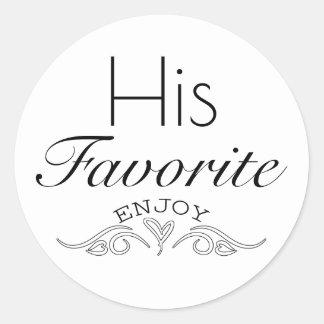 """Favor """"His Favorite"""" Seal"""
