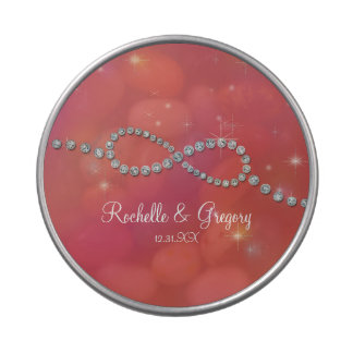 Favor Infinity Symbol Sign Infinite Love Twinkling Candy Tins