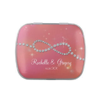 Favor Infinity Symbol Sign Infinite Love Twinkling Jelly Belly Tin