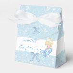 Favor lindo azul del bebé de la fiesta de paquetes de regalo