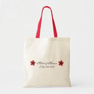Favor moderno del personalizado MOH de la flor de  Bolsa Tela Barata