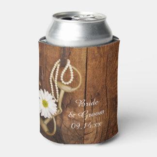 Favor occidental del boda del país del pedazo de enfriador de latas