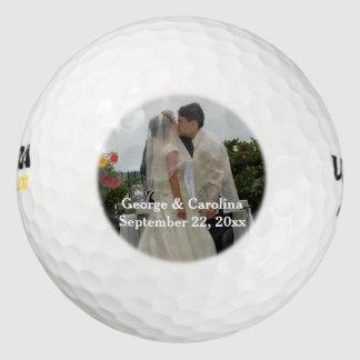 Favor personalizado del boda de la foto