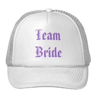 Favor púrpura romántico del boda de la flor de la  gorras