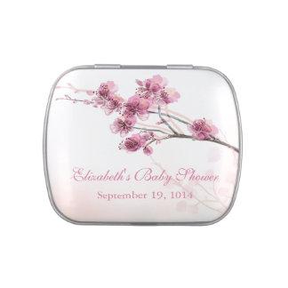 Favor rosado hermoso de la fiesta de bienvenida al jarrones de dulces