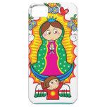 FAVORABLE ADAPTABLE DE VIRGEN DE GUADALUPE FUNDA PARA iPhone SE/5/5s