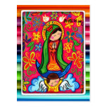 FAVORABLE ADAPTABLE DE VIRGEN DE GUADALUPE POSTAL