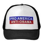 Favorable América, engranaje de Anti-Obama Gorros Bordados