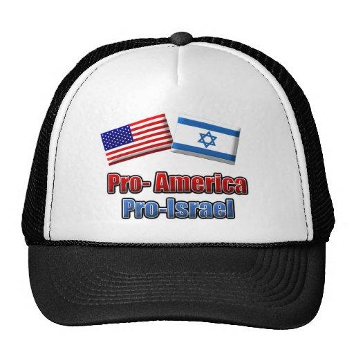 Favorable-América/Israel Gorro De Camionero