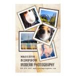 Favorable anuncio moderno del fotógrafo flyer personalizado
