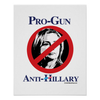 Favorable-Arma Anti-Hillary - Hillarypng.png anti Póster