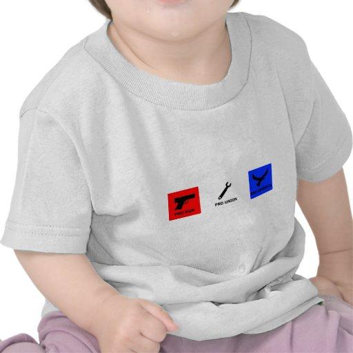 Favorable arma, favorable unión camiseta