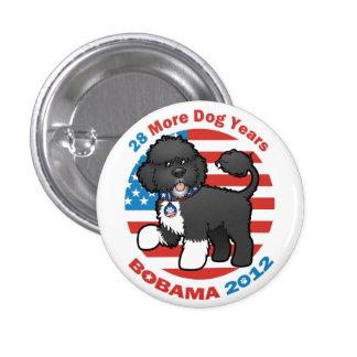 Favorable BO divertida Obama 2012 Pin Redondo De 1 Pulgada