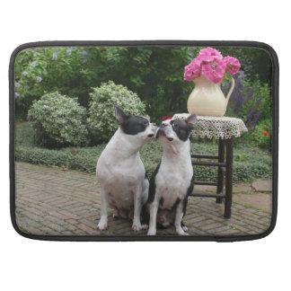 Favorable Boston Terrier funda protectora de McBoo Funda Para Macbook Pro