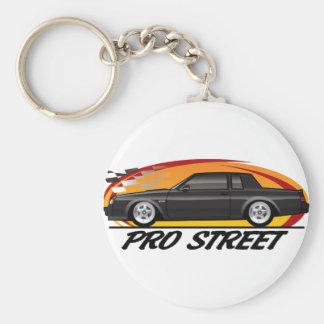 Favorable calle de Buick Grand National Llavero Redondo Tipo Pin